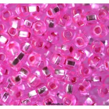 Бісер №18277, рожевий темний, 1 г