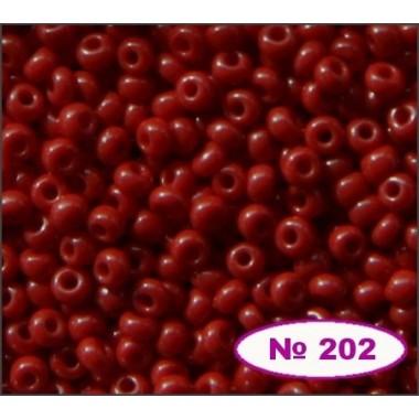 Бісер №93210, червоне вино, 1г