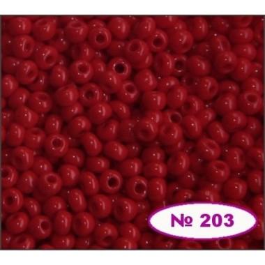 Бісер №93190, червоний, 1г