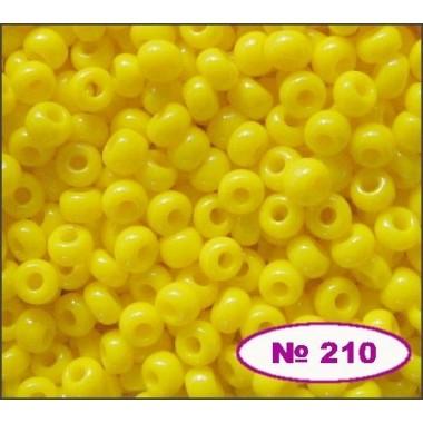 Бісер №83110, жовто-лимонний, 1г