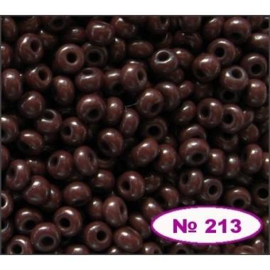 Бісер №13780, шоколадно-коричневий/ 1г
