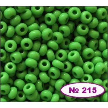 Бісер №53230, зелений з жовтим відтінком, 1г