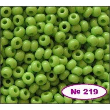 Бісер №53310, салатовий, 1г