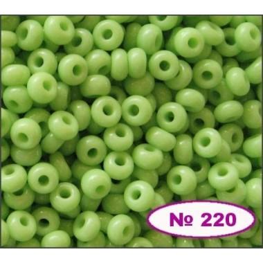 Бісер №53410, світло-салатовий, 1г