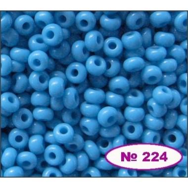 Бісер №63050, блакитний, 1