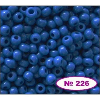 Бісер №33210, темно блакитний, 1г