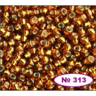 Бісер №17090, світло-коричневий/ 1г