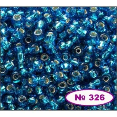Бісер №67150, темно-бірюзовий, 1г