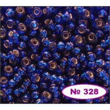 Бісер №67300, синій, 1г