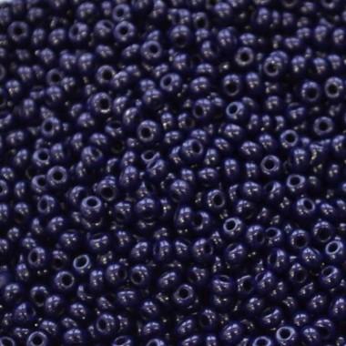 Бісер №33080, темно-синій, 1г