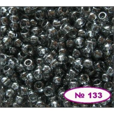 Бісер №40010, темно-сірий, 1г