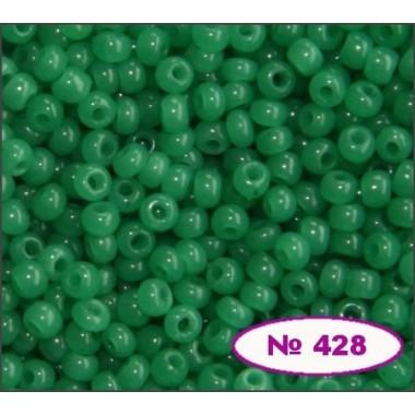 Бісер №52240, зелений, 1г
