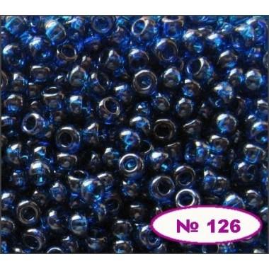 Бісер №60100, темно-блакитний, 1г