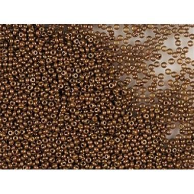 Бісер №83112, темно-коричневий люстеред, 1г