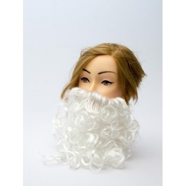 Аксесуар Борода біла, 30 см