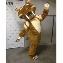 Ростова лялька, костюм аніматора тигриці Шири з Льодовикового періоду