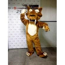 Ростова лялька, костюм аніматора тигр Дієго з Льодовикового періоду