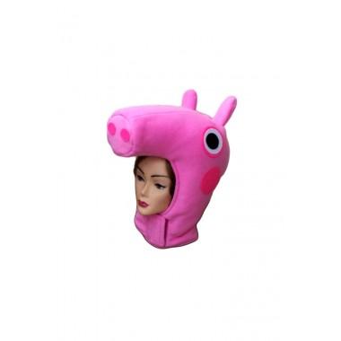 Головний убір Свинки Пеппи для аніматора