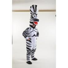 Зебра Марті, костюм для аніматора, ростова фігура