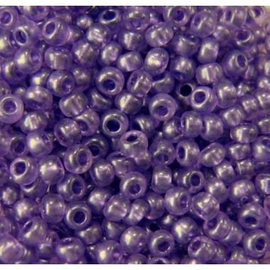 Бісер №08328, фіолетовий з перламутровим прокрасом/1 грам