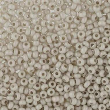 Бісер №16249, сіро-бежевий натуральний/1 грам
