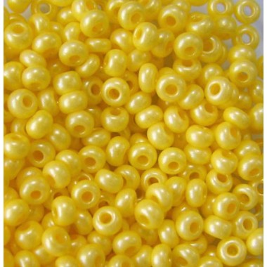 Бісер №16986, світло-жовтий натуральний/1 грам