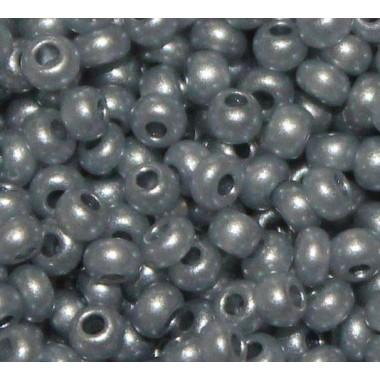 Бісер №17742, сірий перламутровий/1 грам