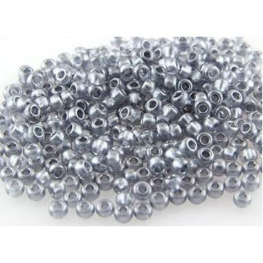 Бісер №18942, срібний тертий, 1 грам
