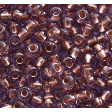 Бісер №29010, бузково-коричневий/1 грам