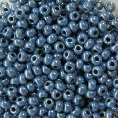 Бісер №33025, сіро-синій натуральний, 1г