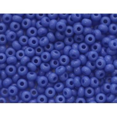 Бісер №33040, натуральний синьо-бузковий/1 грам