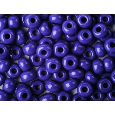 Бісер №33050, натуральний синьо-фіолетовий яскравий/1 грам