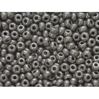Бісер №48020, сіро-коричневий перловий/1 грам