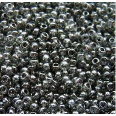 Бісер №48049, темно-сірий глазур/1 грам
