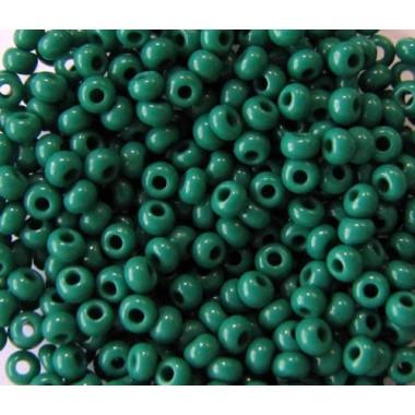 Бісер №53240, зелений натуральний/1 грам