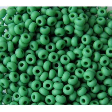 Бісер №53250matt, матовий зелений/ 1г