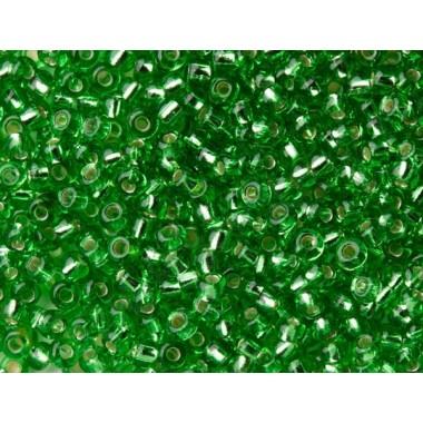 """Бісер №57100, світло-зелений """"вогник""""/1 грам"""