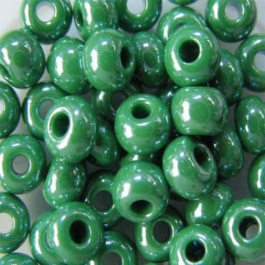 Бісер №58250, блідо-зелений, 1г