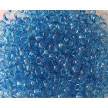 Бісер №01132,темно-блакитний прозорий/1 грам
