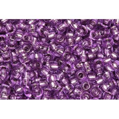 """Бісер №08228, темно-фіолетовий """"вогник""""/1 грам"""