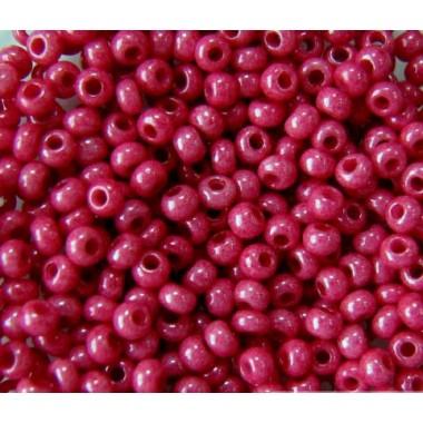 Бісер №16198, темно-рожевий натуральний/1 грам