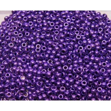 Бісер №18328, фіолетовий металік / 1 грам
