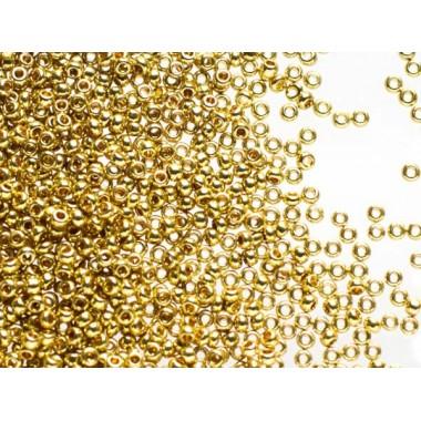 Бісер №18383, темне золото метал/1г