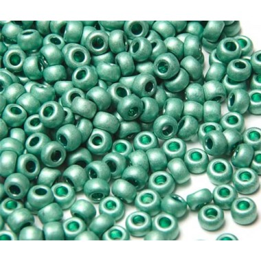 Бісер №18558 matt, бірюзово-зелений матовий / 1 грам