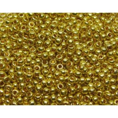 Бісер №18586, гірчичний металік / 1 грам