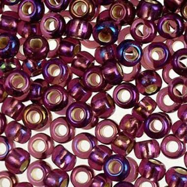 Бісер №27069, фіолетовий райдужний / 1 грам