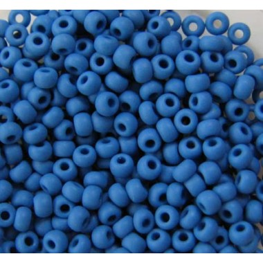 Бісер №33210matt, синьо-блакитний матовий/1 грам