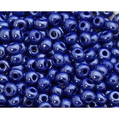 Бісер №38050, фіолетово-синя глазур / 1 грам