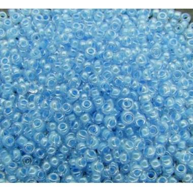 Бісер №38134, світлий блакитний з прокрасом / 1 грам