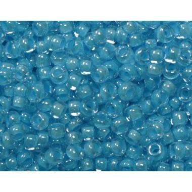 Бісер №38165, блакитний з прокрасом / 1 грам